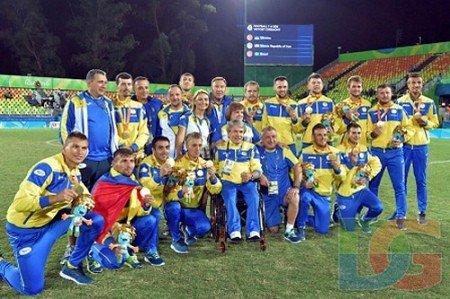 Паралімпійська збірна України з футболу – чемпіон ігор у Ріо